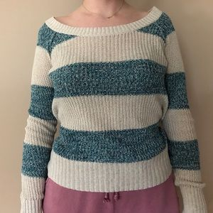 Roxy Striped Knitted Sweater